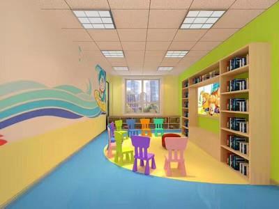廊坊幼儿园装修设计案例