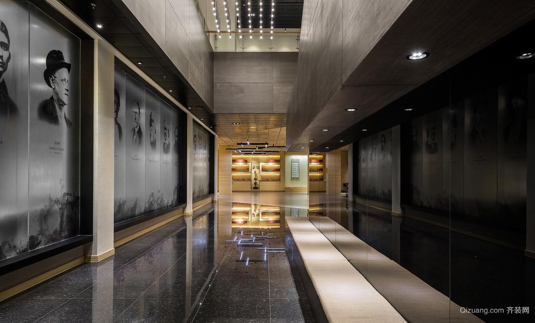 格子艺术展览馆现代简约装修效果图实景图