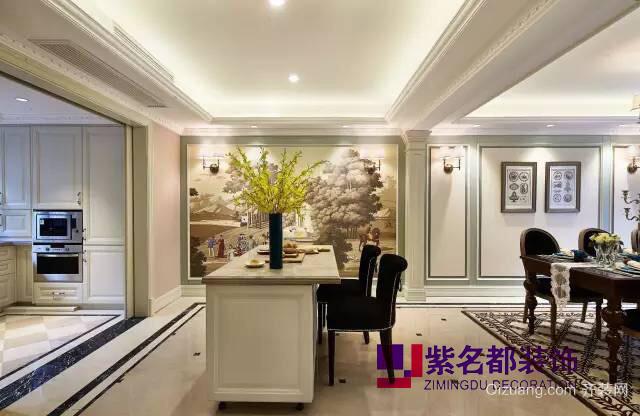 中海珑玺欧式风格装修效果图实景图