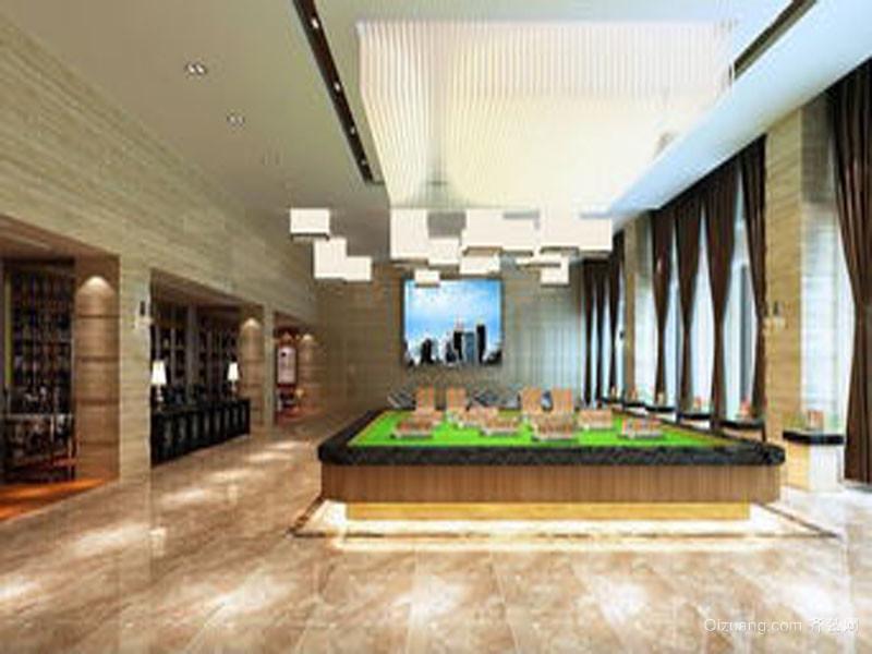 湖北售楼部现代简约装修效果图实景图