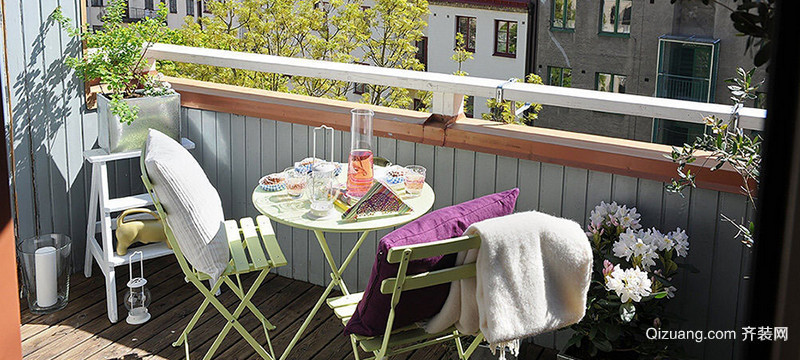 宜家阳台装修效果图现代简约装修效果图实景图