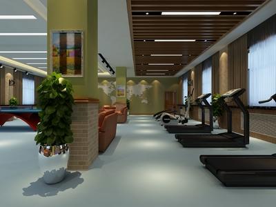 府谷健身房装修设计案例