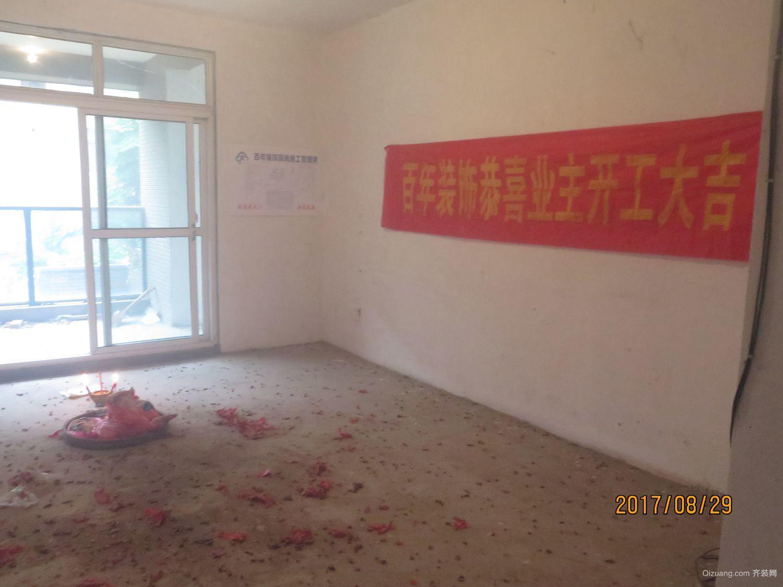 枫桦丽府3-101现代简约装修效果图实景图