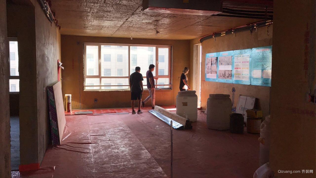 信泰龙汇福邸现代简约装修效果图实景图