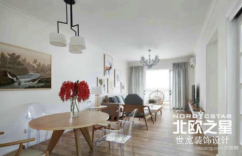 中海国际A4社区现代简约装修效果图实景图