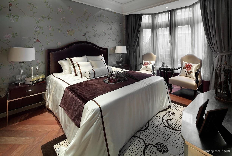 宋都东郡国际别墅美式风格装修效果图实景图