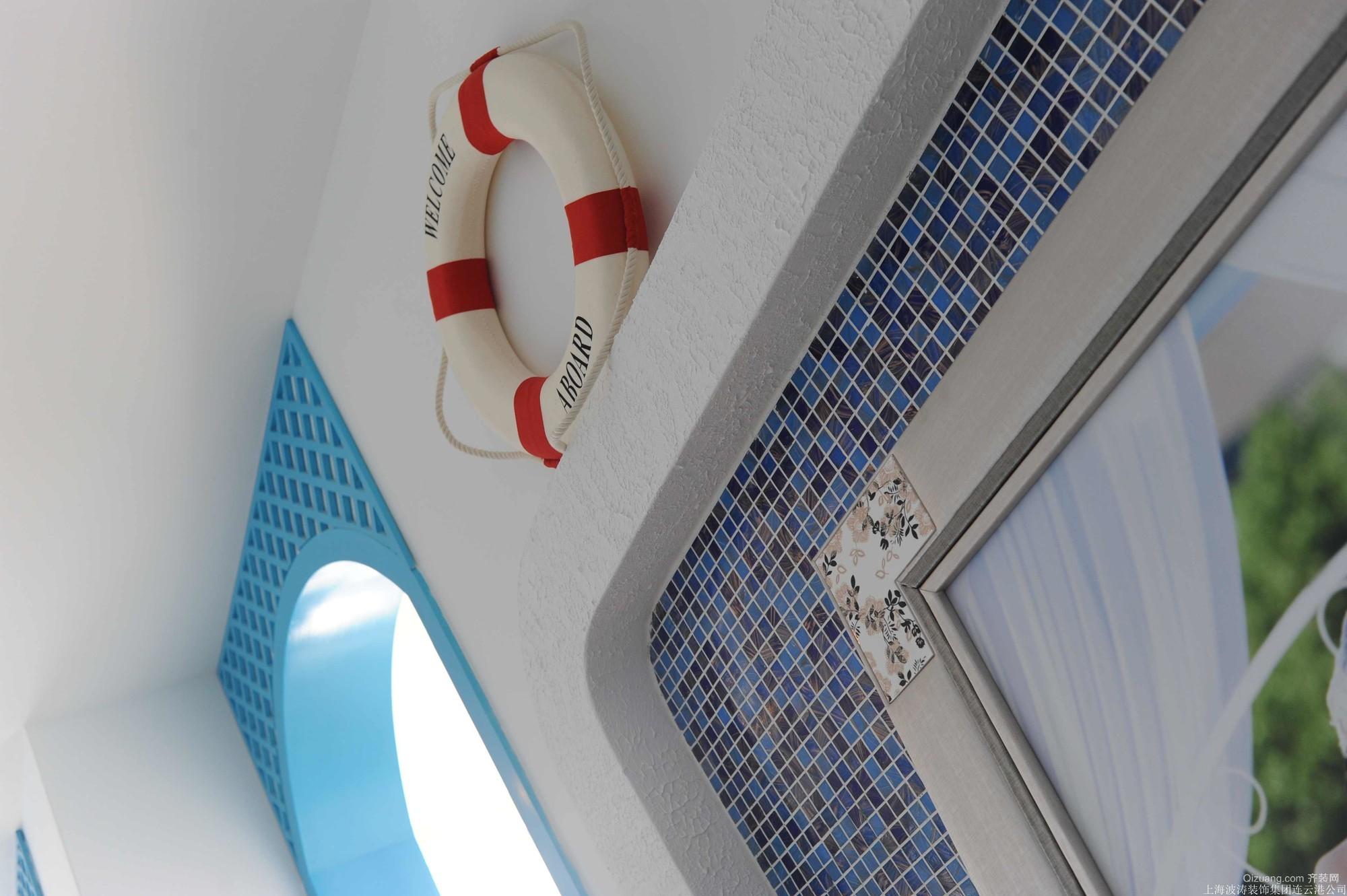 御景龙湾地中海风格装修效果图实景图