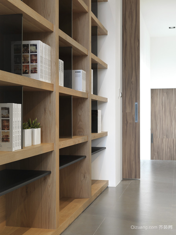 建筑公司现代简约装修效果图实景图