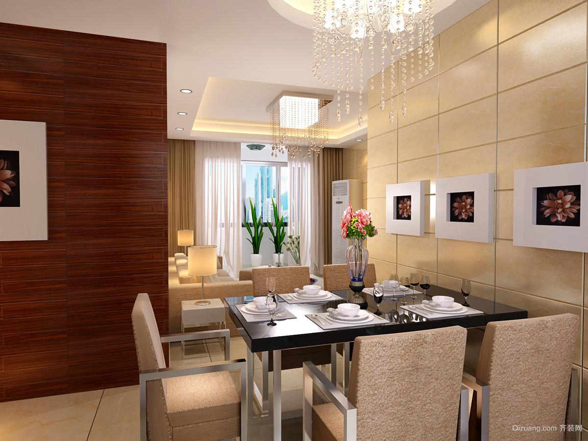 大美公寓现代简约装修效果图实景图