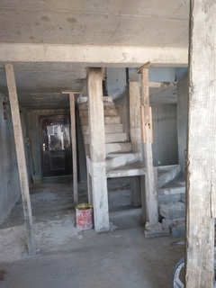 天园小区2次浇筑结构施工完成