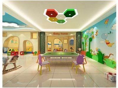 石家庄幼儿园装修设计案例