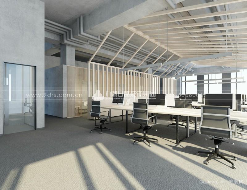 成也集团办公楼现代简约装修效果图实景图
