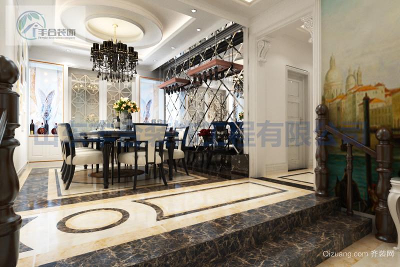 中润华侨城美式风格装修效果图实景图