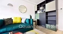顾家公寓现代简约装修效果图实景图