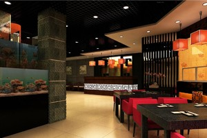 中式饭店装潢