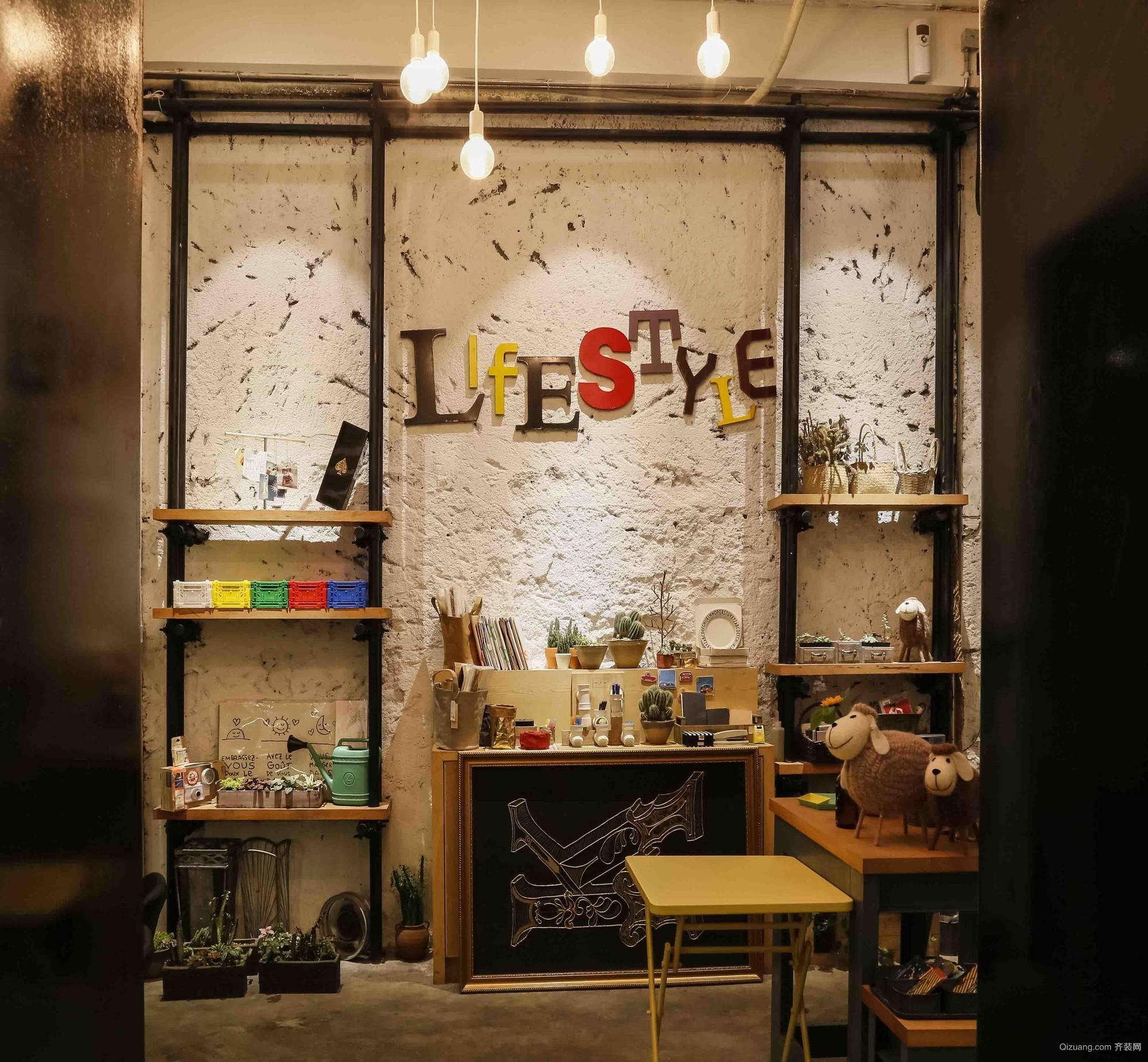 CHELLO咖啡店混搭风格装修效果图实景图