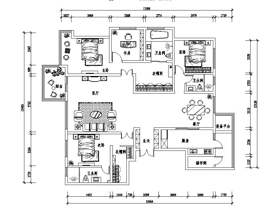 天山九峯欧式风格装修效果图