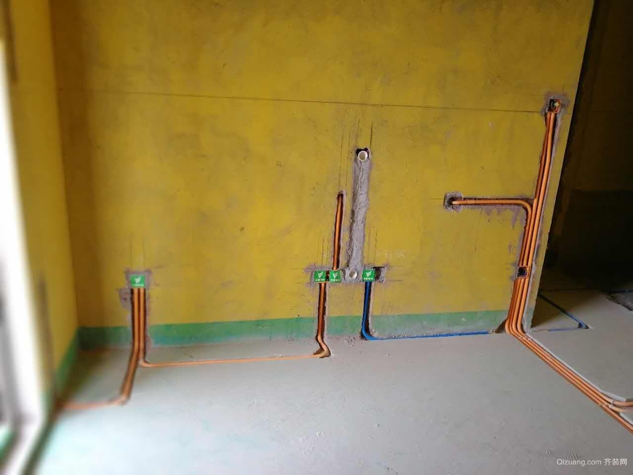 赞成杭家2-1-*02水电验收现代简约装修效果图实景图