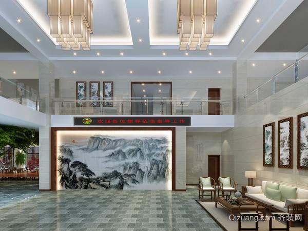 办公楼现代简约装修效果图实景图