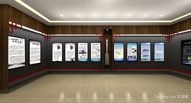 河间气象局气象科普展厅其他装修效果图实景图