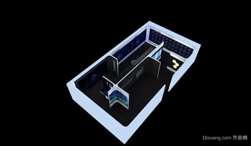 渤海气象科普展厅其他装修效果图实景图