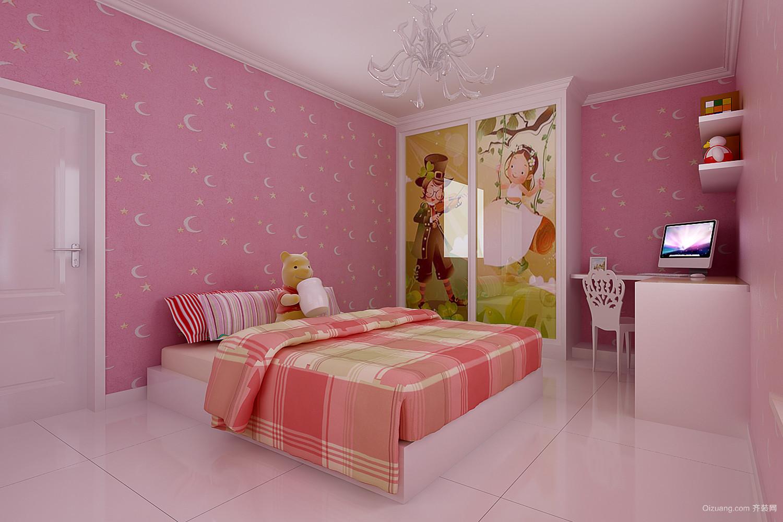 卧室样板间现代简约装修效果图实景图