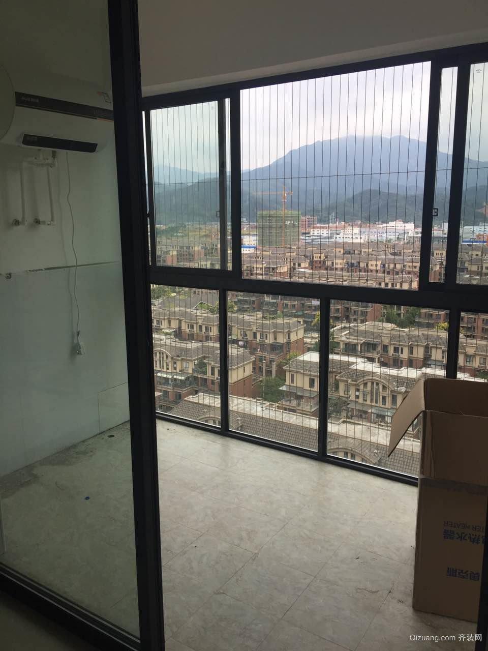 岳麓欧城(出租房)现代简约装修效果图实景图