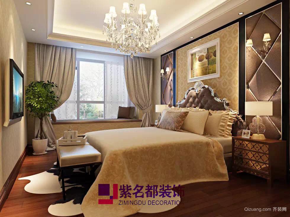中城誉品欧式风格装修效果图实景图
