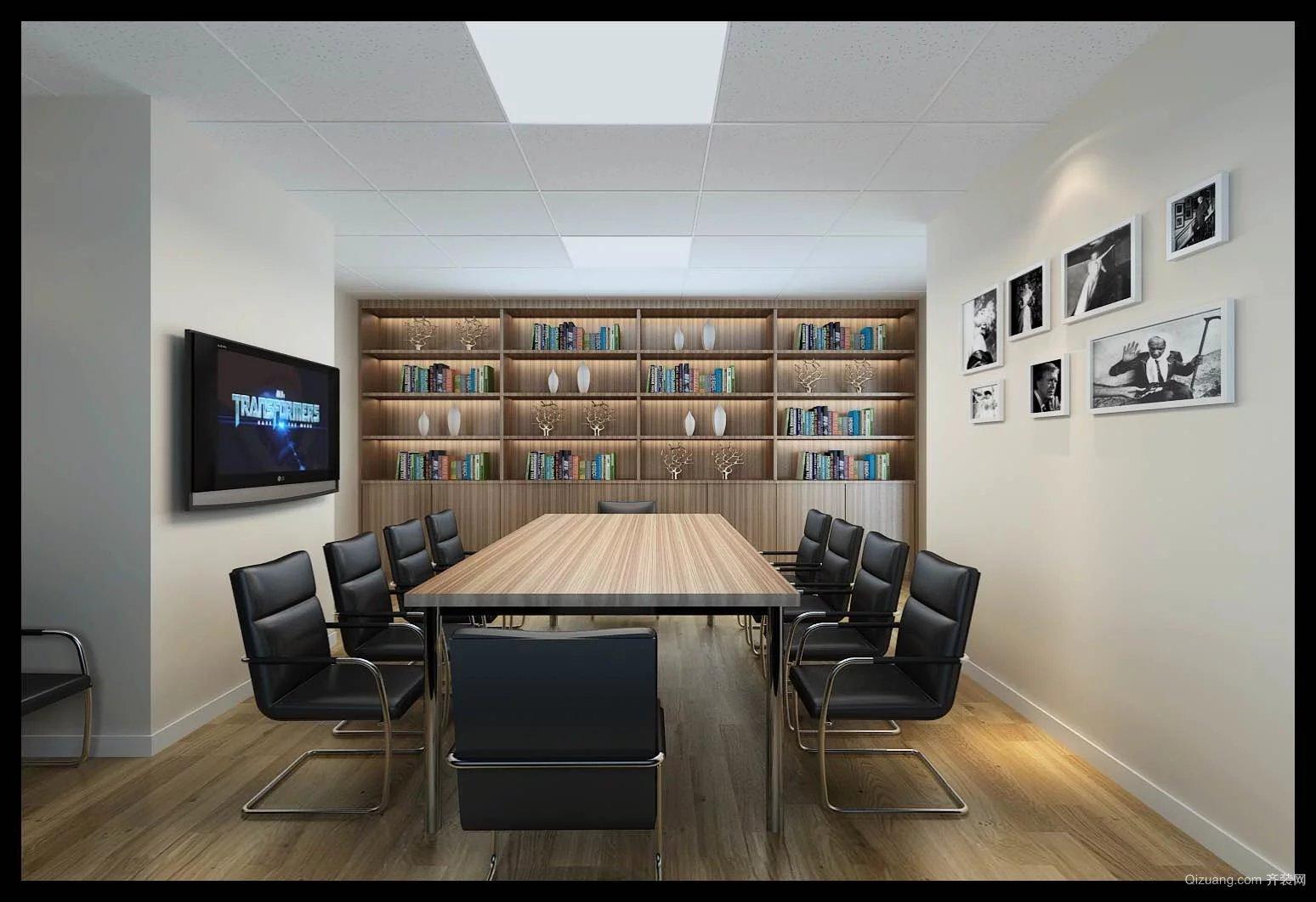 商会大厦现代简约装修效果图实景图