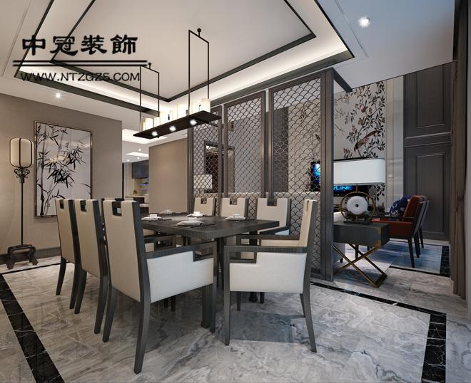 九玺台中式风格装修效果图实景图