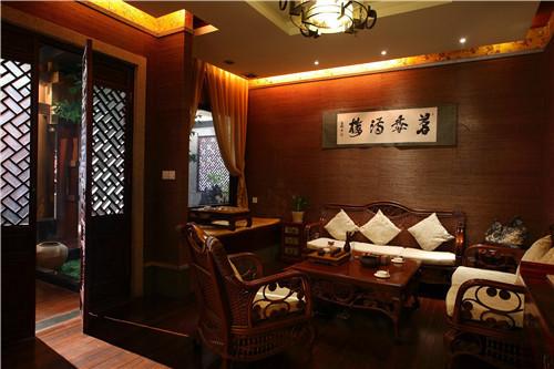 茶餐厅古典风格装修效果图实景图