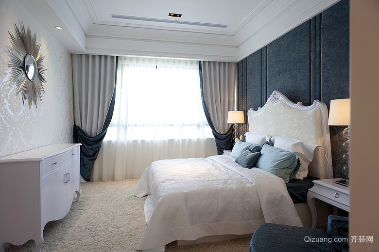 光明上海府邸欧式风格装修效果图实景图