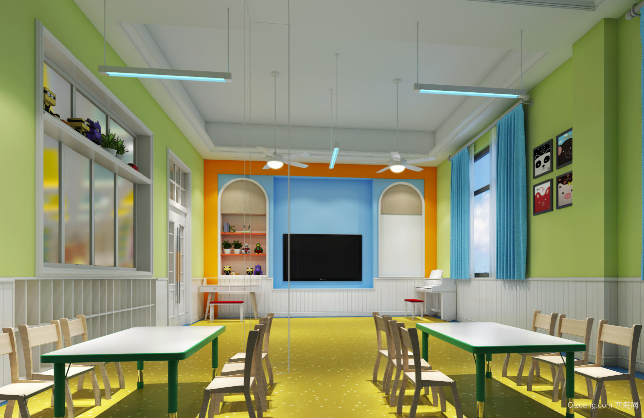 华铭幼儿园其他装修效果图实景图
