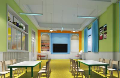安化华铭幼儿园装修设计案例