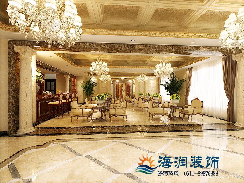 恒大御景半岛2号楼26层工装欧式风格装修效果图实景图