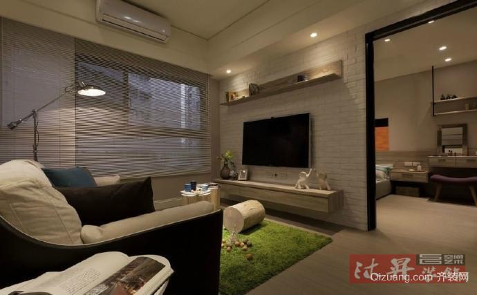 联信家园欧式风格装修效果图实景图