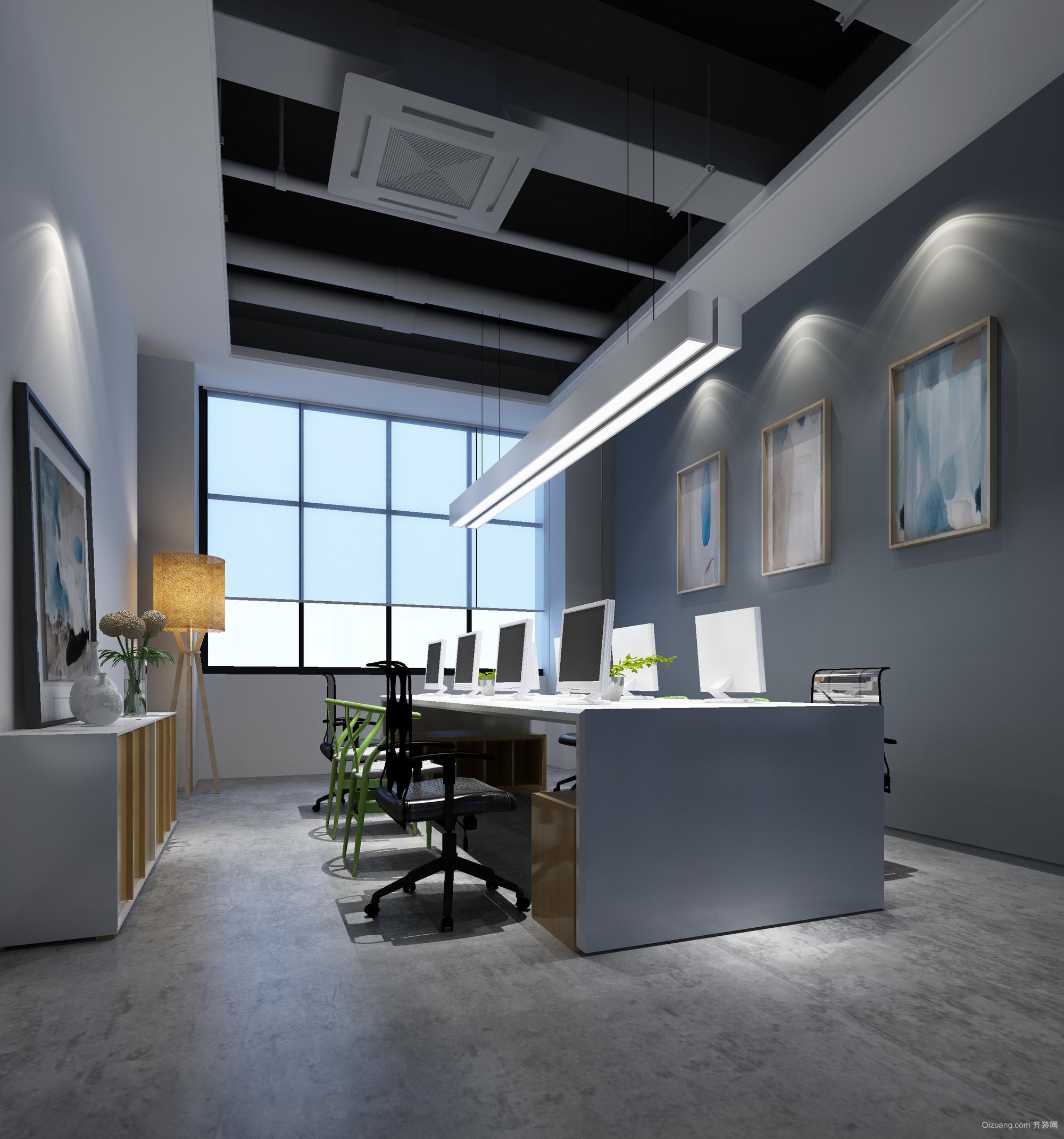 机器人制造公司办公室其他装修效果图实景图