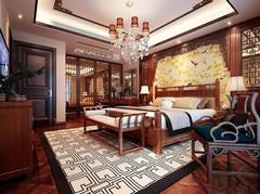 北京御园125平装修效果图设计案例
