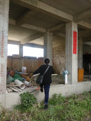 白塔村自建房