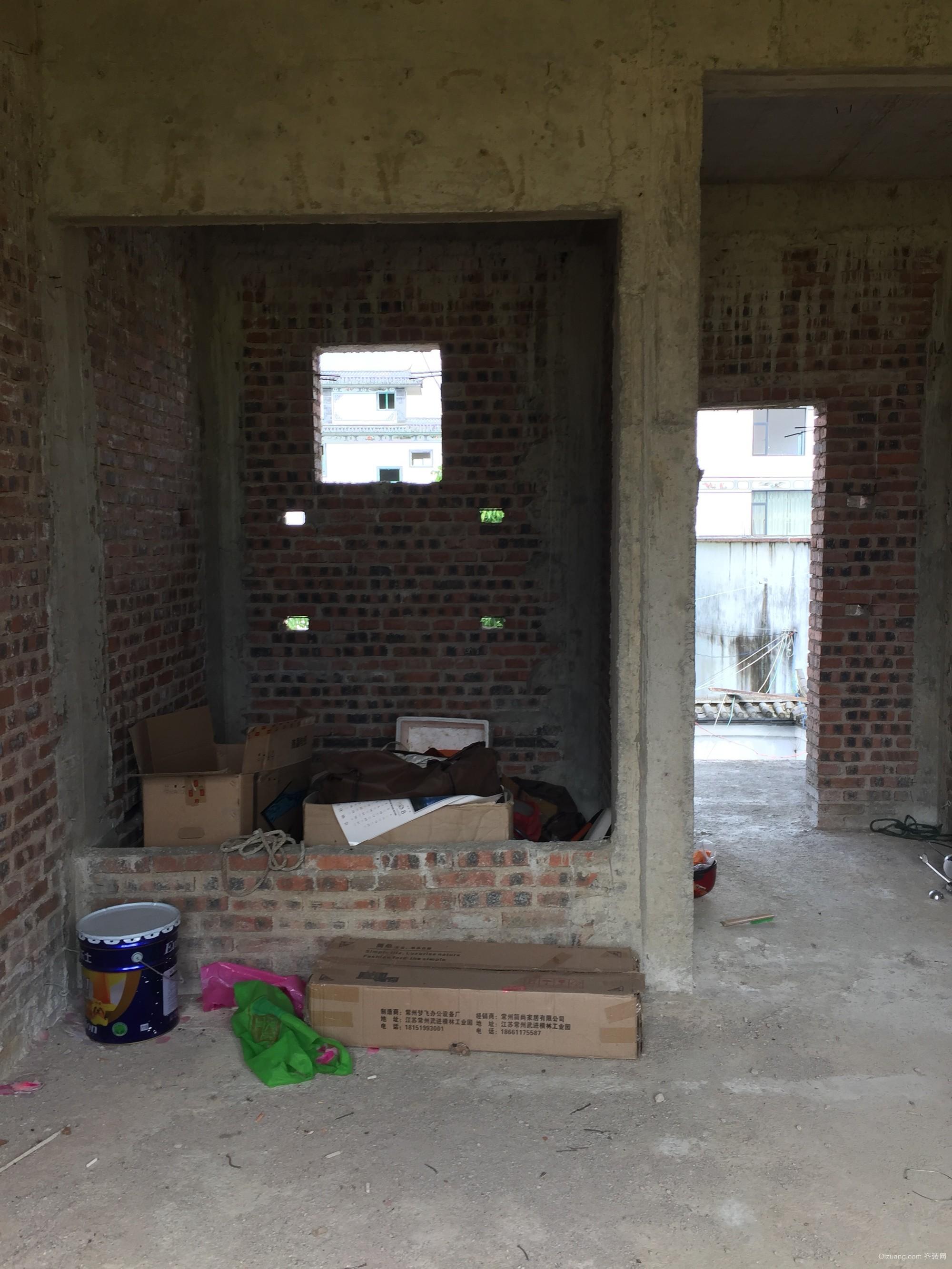 白塔村自建房现代简约装修效果图实景图