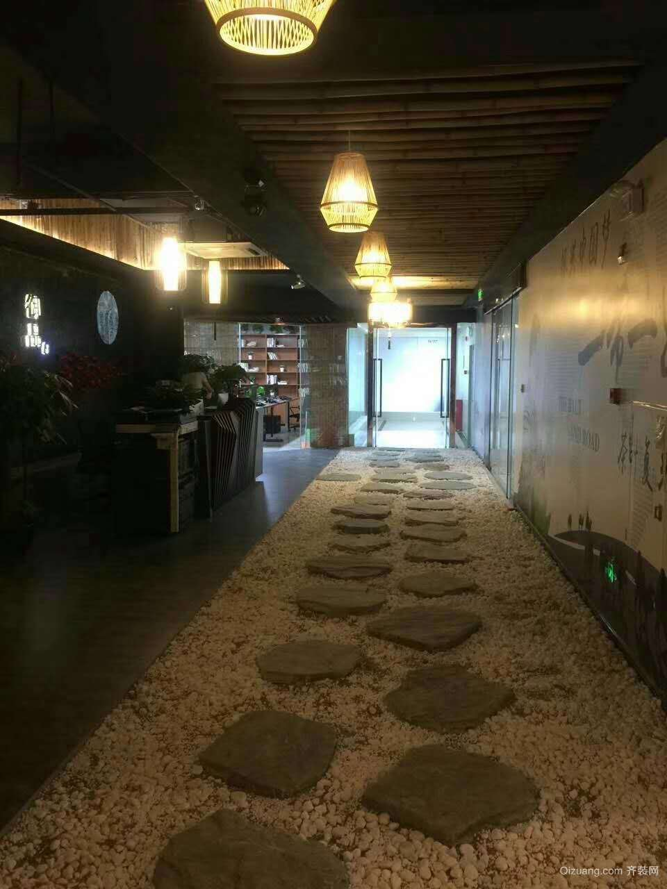 火锅城中式风格装修效果图实景图