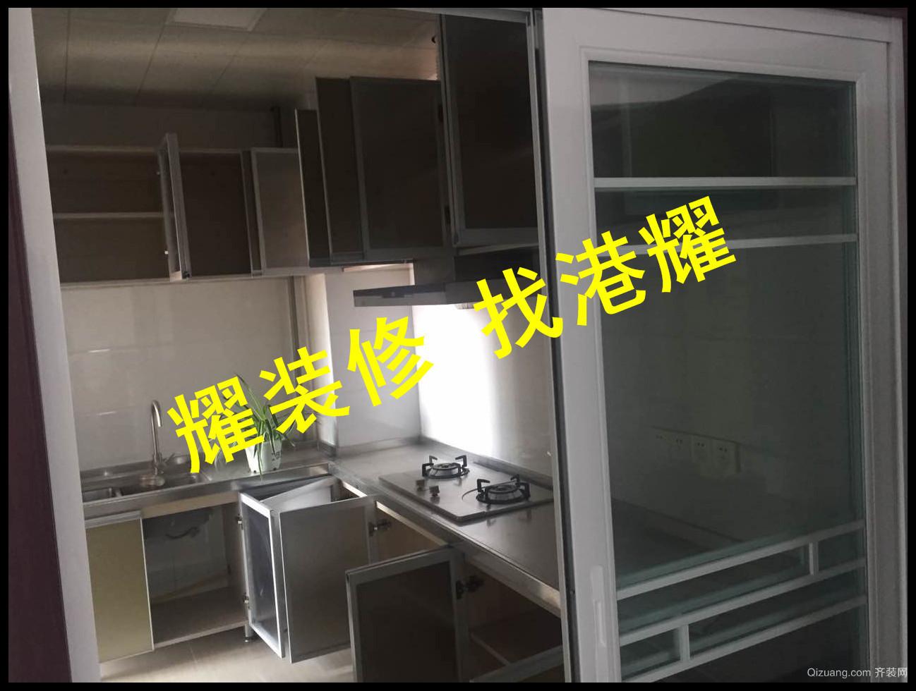 福港·东方塞纳现代简约装修效果图实景图