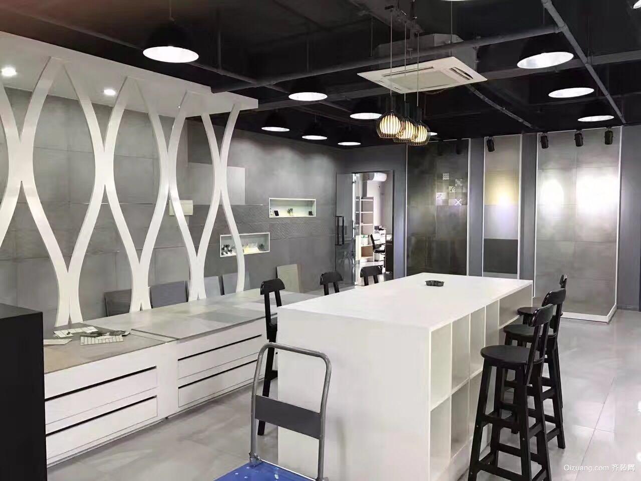 瓷砖店现代简约装修效果图实景图