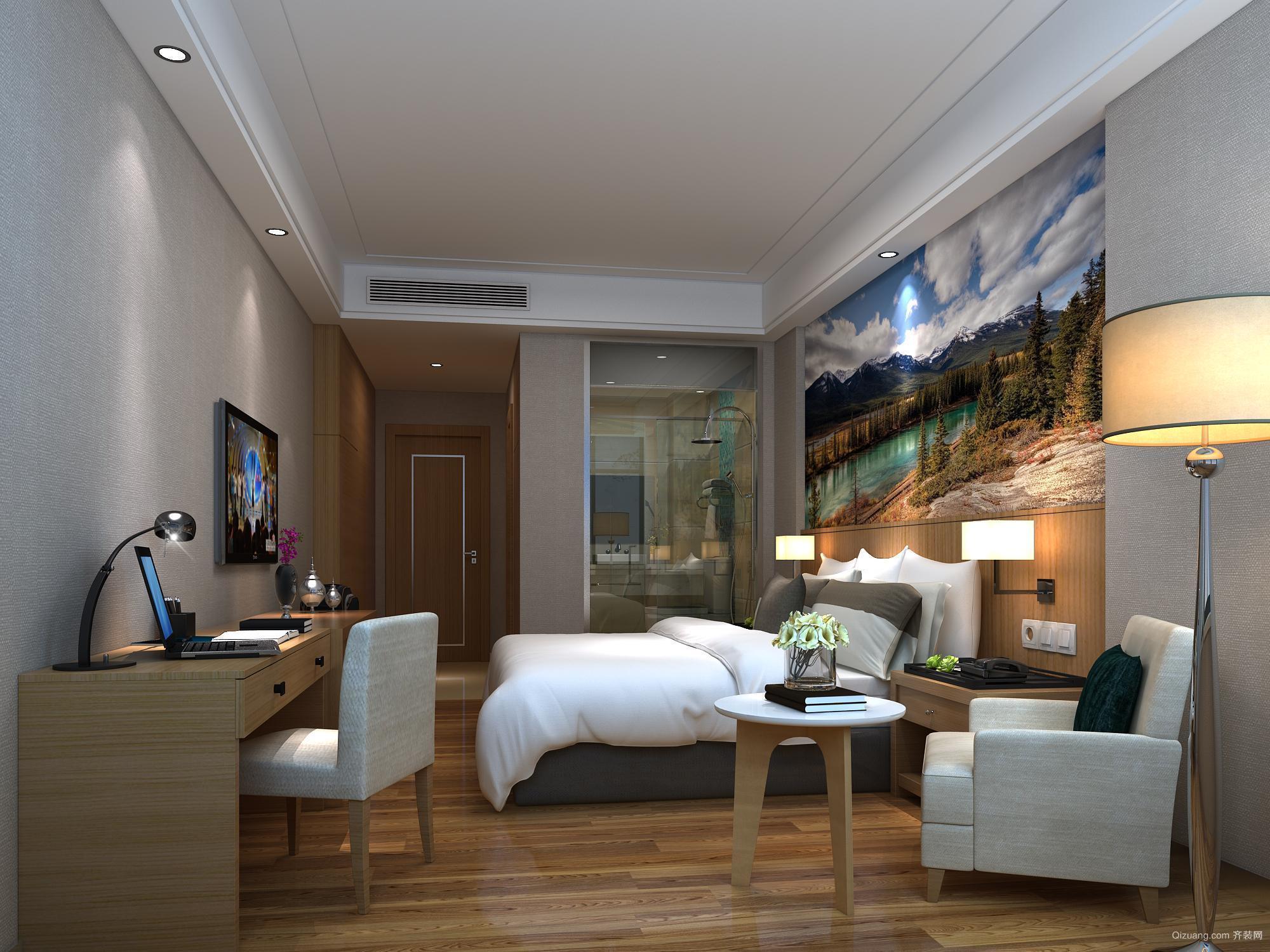 商丘精品酒店现代简约装修效果图实景图