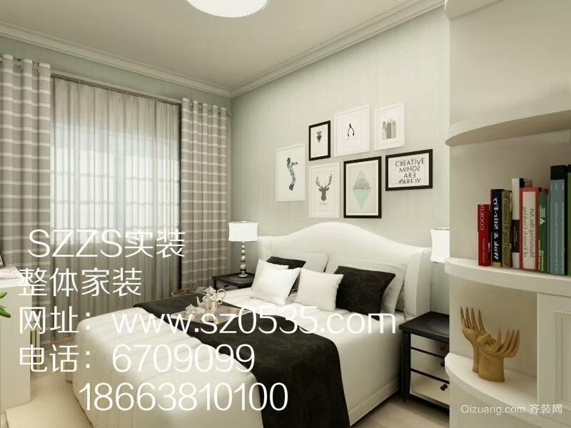 华岳西丽海岸现代简约装修效果图实景图