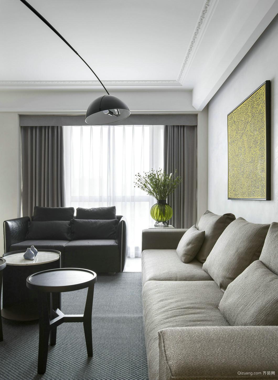 怀化世邦美住装饰--大汉龙城现代简约装修效果图实景图