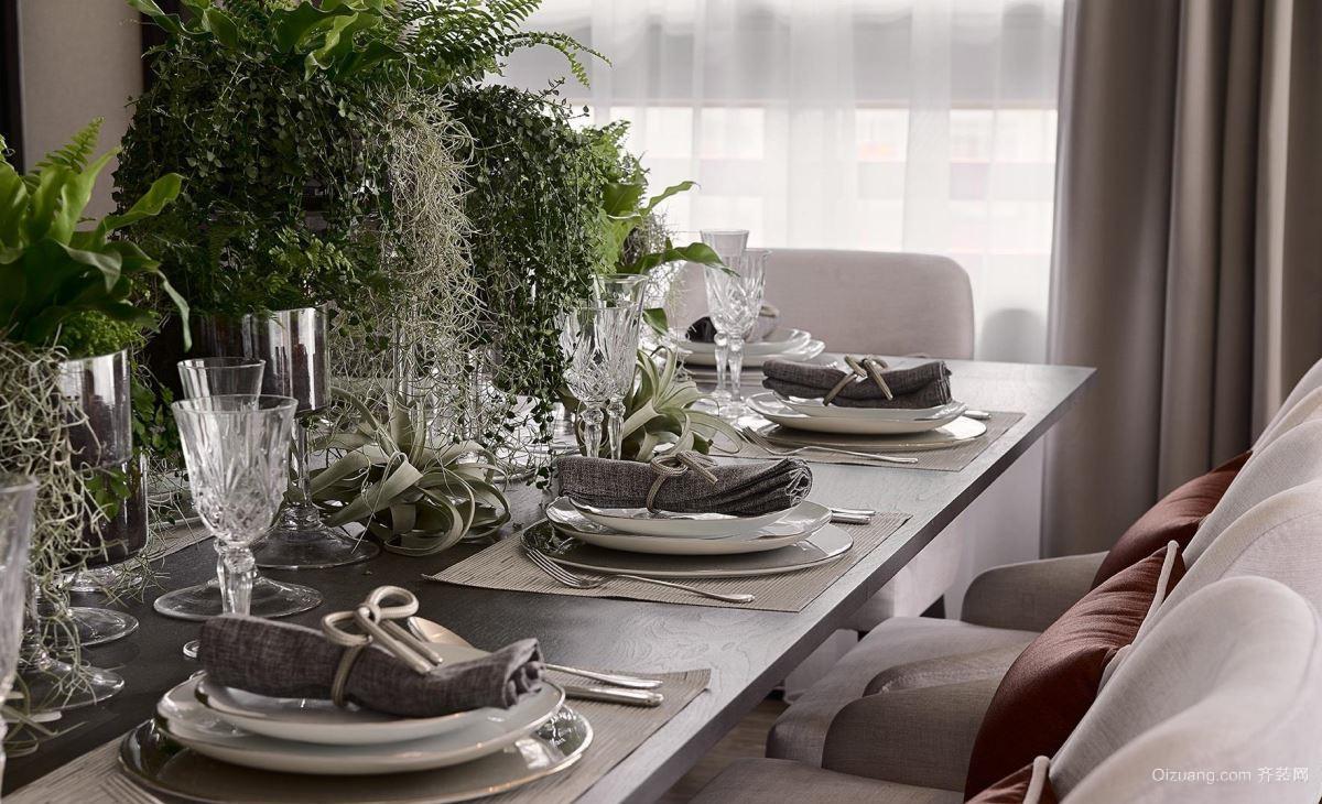 怀化世邦美住装饰--金时花园现代简约装修效果图实景图