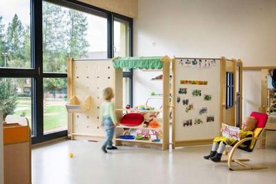 西安幼儿园室内效果装修设计案例