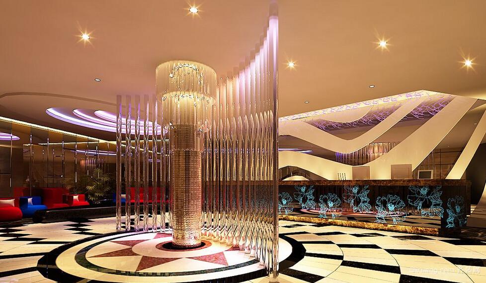 KTV大厅地中海风格装修效果图实景图