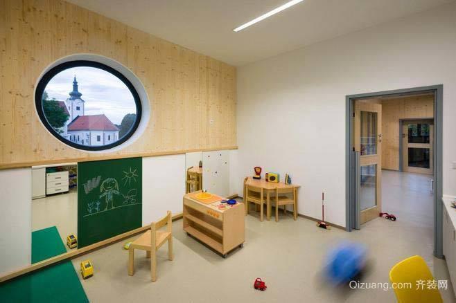 幼儿园室内效果欧式风格装修效果图实景图